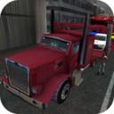 3D汽车运输卡车