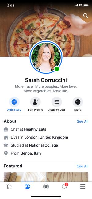 脸书最新版